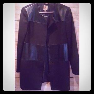 Black Evening Topper Jacket